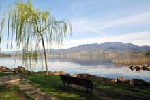 Varese Lake, Italy, April 06, ...