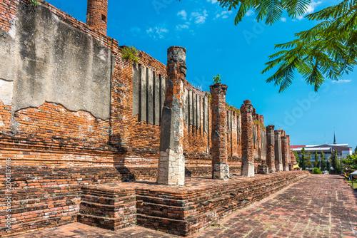 Poster Rudnes Ancient ruins of Wat Thammikarat temple