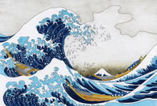 Hokusai The Great Wave Of Kana...