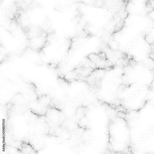 Poster Artificiel White Marble Texture Background