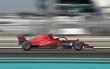 F1 Rennwagen auf Rennstrecke