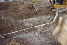 Drainage Pipe Under Mud