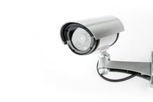 CCTV Camera Isolated On White ...