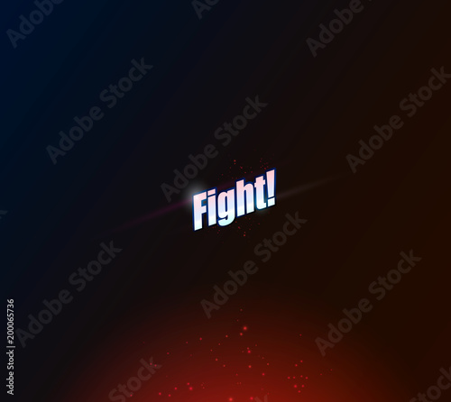 modern professional fighting poster templates vector illustrations