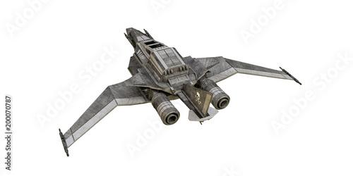 Fotomural spaceship fighter