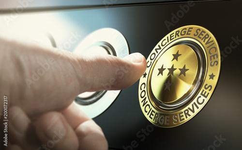 Obraz na plátně Lifestyle Management and Concierge Services