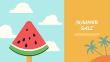 Sommer Rabatt Banner