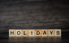 Word Holidays, Consisting Of L...