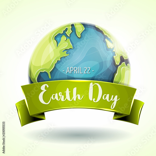 Sports shop Happy Earth Day Banner