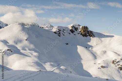 Serre Chevalier-Hautes Alpes Fototapet