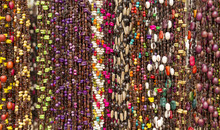 Colorful Beads As Background Pattern