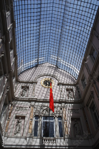Poster Brussel Galeries de la Reine (Centre-ville de Bruxelles)