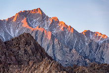 Lone Pine Peak View On Sunrise...