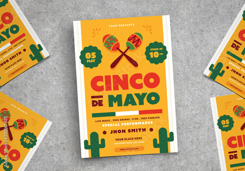 cinco de mayo flyer 2 buy this stock template and explore similar