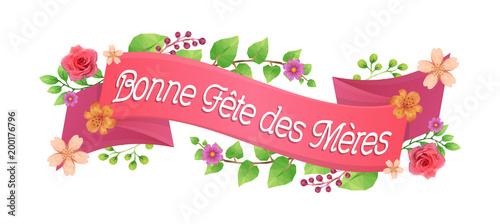 Photo  Bandeau Bonne Fête des Mères