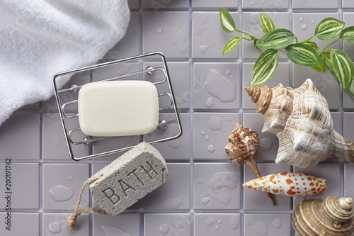Fotografie, Obraz bath goods