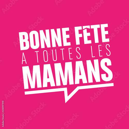 Obraz na plátně fête des mères, 27 mai