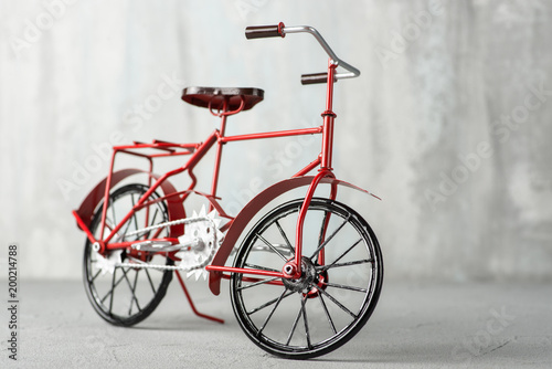 Recess Fitting Bicycle Red Vintage Bicycle