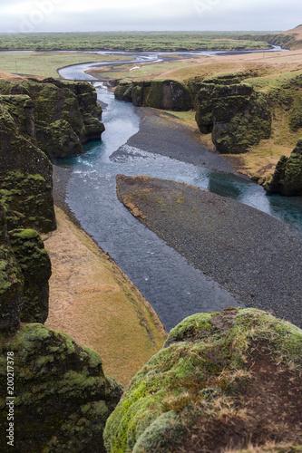 Keuken foto achterwand Chocoladebruin Islanda, la terra dei vichinghi. Paesaggio islandese.