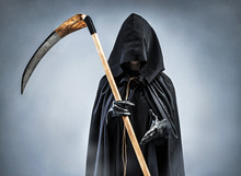 Grim Reaper Welcomes You. Phot...