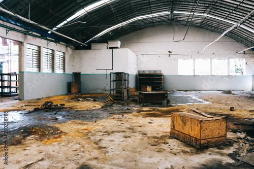 Keuken foto achterwand Oude verlaten gebouwen Abandono