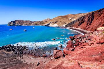 Santorini, Greece - Red Beach