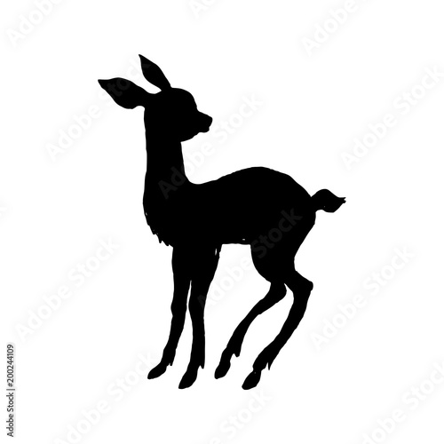 Papel de parede Little sweet deer