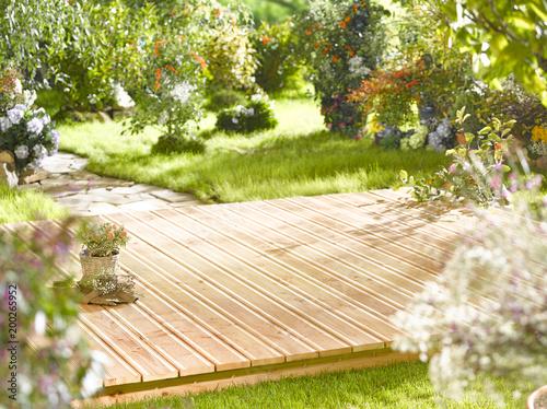 Fotobehang Tuin Garten