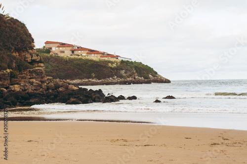 Fotografie, Obraz  Paisaje de la costa cantábrica en España