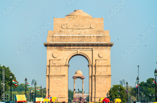 Photo  The India Gate, a war memorial in New Delhi, India