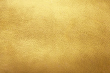 Gold Background. Rough Golden Texture. Luxurious Gold Paper Template For Text Design, Lettering.