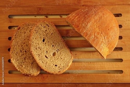 Foto op Plexiglas Brood Bread top