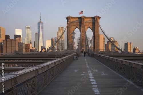 Naklejka premium Most Brookliński