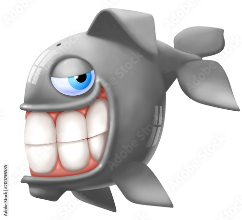 Obraz na plátne balena sorridente