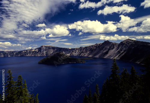 Foto op Plexiglas Landschappen crater lake oregon