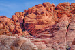 canvas print picture - Red Rock Canyon Nevada