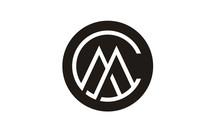 CM MC Letters Monogram Initial...