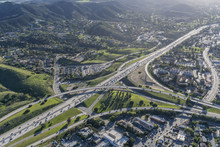 Aerial View Of 101 And 23 Free...