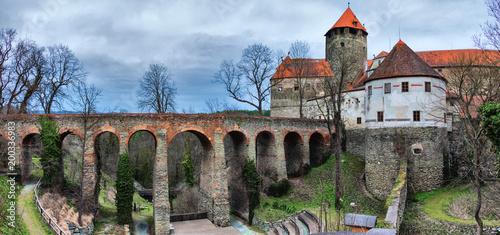 Plakat Zamek Schlaining w Burgenland