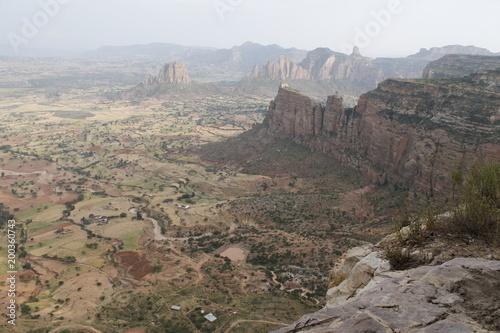 Deurstickers Donkergrijs Ethiopia