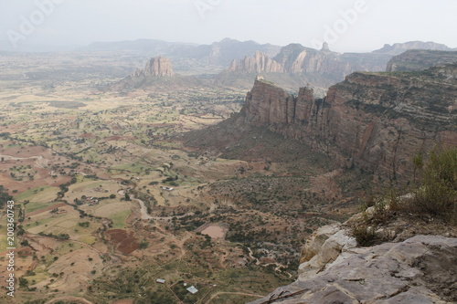 Tuinposter Donkergrijs Ethiopia