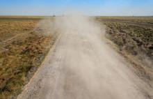 Dusty Track At  Los Llanos