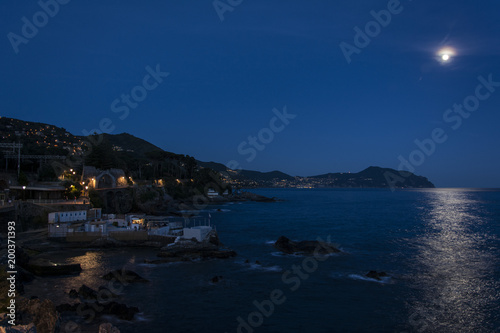 Luna Sul Mare Buy This Stock Photo And Explore Similar Images At