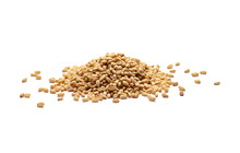 Wheat Grains, Pile Isolated On...