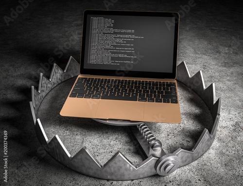 Fotografia  3d Falle - Laptop