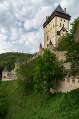 Fototapeta na wymiar Karlstejn Castle, Central Bohemia, Czech Republic.