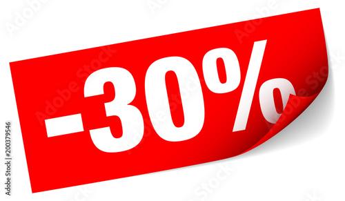 Fotografia  Sticker Sale -30%