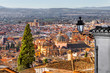 View of the Historical City Granada, Andalucia, Spain.