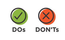 Do And Don't Or Good And Bad I...