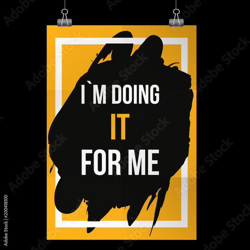 I Followed My Heart And It Led Me To The Gym Inspiring Workout And Fitness Gym Motivation Quote Illustration Sign Creative Strong Sport Vector Rough Typography Grunge Wallpaper Poster Concept Buy